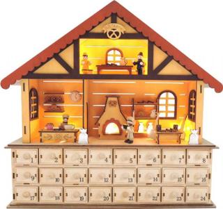 Julekalender Bakeri - Pakke kalender treet 10750