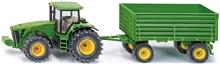 Siku Traktor med Tilhenger John Deere 1:50