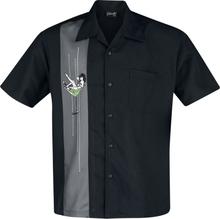 Steady Clothing - Martini Girl -Kortermet skjorte - svart, grå