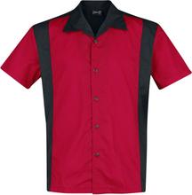 Steady Clothing - Garage Shirt -Kortermet skjorte - rød