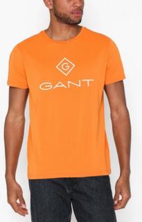 Gant D1. Gant Lock - Up Ss t - Shirt T-skjorter og singleter Amber