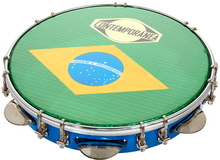 "Contemporanea 10"""" Pandeiro Luxe blue"