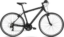 Kross Evado 1.0 Herr Hybridcykel Alu, Shimano 3x7, Fälgbroms