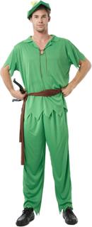 Peter fra eventyrlandet - udklædning voksen One-Size (42)