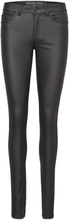 NOISY MAY Lucy Nw Coated Trousers Women Black