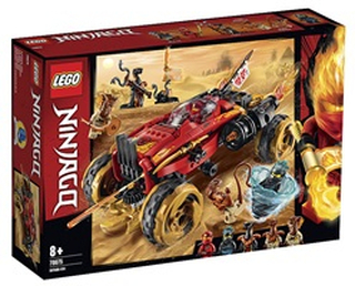 LEGO Ninjago Katana-firhjulstrækker 70675