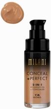 Milani Conceal & Perfect Liquid Foundation Nutmeg