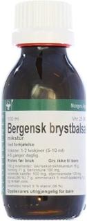 Bergensk Brystbalsam NAF Mikstur 100ml