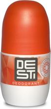 Desti Orange label