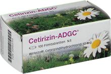 Cetirizin-ADGC® Filmtabletten 100 St Filmtabletten