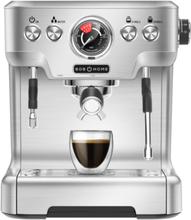 Bob Home Espresso Club Espressomaskin - Stål