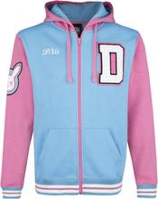 Overwatch - D.VA -Hettejakke - lyseblå, rosa