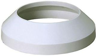 Toaletten jord rör krage 110mm vit täcka slutar