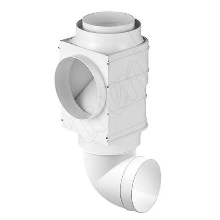 Ventilation Installation System sæt emhætte med Timer Vent Grill ka...