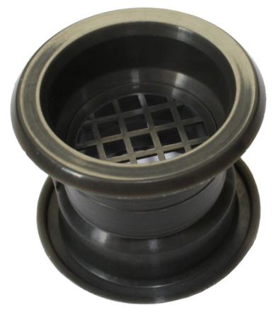 Mini cirkel krave luft aftræk gitter døren ventilationsåbningen dæk...