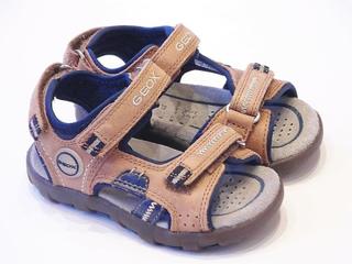 Geox pojkar sandaler | Geox pojkar brun Sport sandaler | Geox Plane...