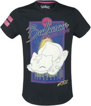 Pokemon - Bisasam - City -T-skjorte - svart