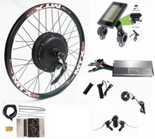 """Electric Bike Conversion Kit 52V 2000W 20""""24'' 26""""27.5""""28""""29""""700C Front Motor Wheel Bicycle Kit,with S830 Display"""