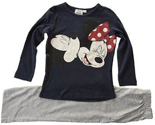Disney Minnie Mouse jenter Pyjamas langermet nattøy sett