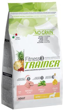 Trainer Fitness 3 Adult Mini Pig Peas ?l Trockenfutter fur Hunde glutenfrei 150g
