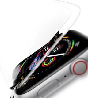 3D Transparent Displayskydd i härdat glas till Apple Watch 44mm