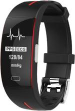 eStore P3 Aktivitetsarmband med PPG och EKG - Röd
