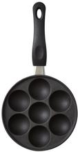 Funktion æbleskivepande 16,8 cm. 6 stk. på lager