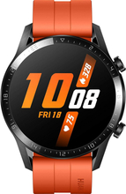 Huawei Watch GT2 Latona-B19s Sport 46mm mit Gehärtetes Glas Displayschutzfolie - Sunset Orange