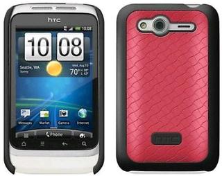 HTC hårt skal fodral för HTC Wildfire S - rosa