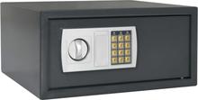 vidaXL Digitalt kassaskåp mörkgrå 42x37x20 cm