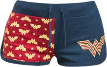 Wonder Woman - Symbols -Hot pants - blå, rød