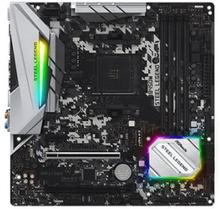 ASRock B450M Steel Legend - Moderkort - micro ATX - Socket AM4 - AMD B450 - USB 3.1 Gen 1, USB-C Gen2, USB 3.1 Gen 2 - Gigabit LAN - inbyggda grafike