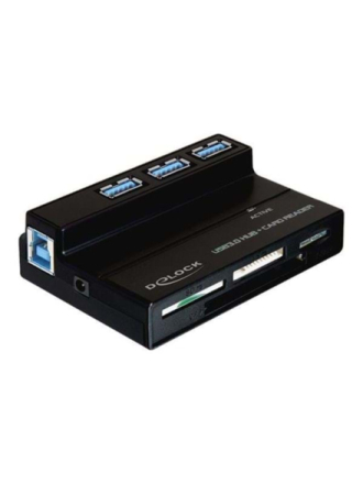 USB 3.0 Card Reader All in 1 + 3 Port USB 3.0 Hub