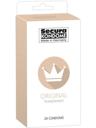 Secura: Original, Kondomer, 24-pack