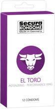 Secura: El Toro, Kondomer, 12-pack