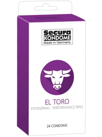 Secura: El Toro, Kondomer, 24-pack