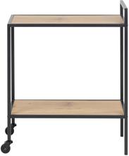 Kiro rullebord med hylde egelook
