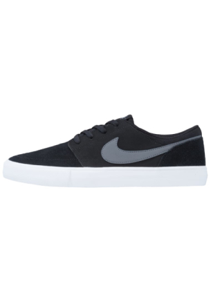Nike SB SOLARSOFT PORTMORE II Joggesko black/dark grey/white