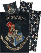 Harry Potter - Hogwarts -Sengetøy - flerfarget
