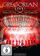 Gregorian - LIVE! Masters of Chant - Final chapter Tour - DVD - multicolor
