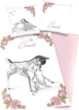 Bambi - -Sengetøy - rosa, hvit
