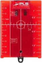 PLS RRT4 Måltavla för röd laser