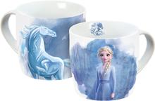Frozen - Elsa & Nokk -Kopp - flerfarget