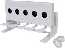 Vidaxl måltavla för skidskytte med återställare 5 hål