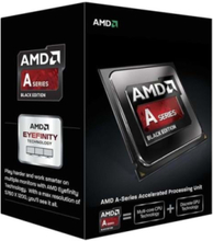 A10-7870K Black+ CPU - 4 kärnor 3.9 GHz - FM2+ - Boxed (PIB - med kylare)