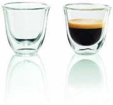 Espresso glasses 2pcs 60ml