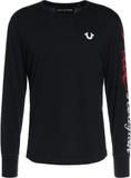 True Religion Tshirt långärmad black