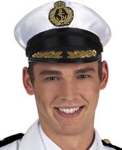 Skepparens kaptens hatt - Maskeradhattar för vuxna One-size