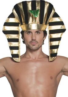 Huvudbonad för egyptisk kung vuxna One-size