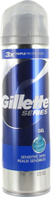 Series Shave Gel, 200ml Gillette Parranajogeelit